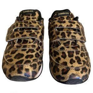 Reebok Sparkly Leopard Sneakers - Toddler's Size 7
